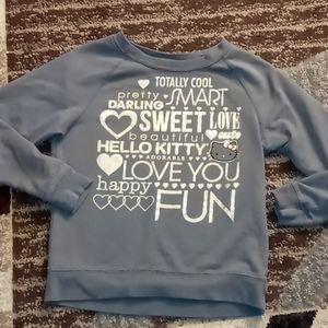 5/$25 Hello Kitty sweatshirt size xl